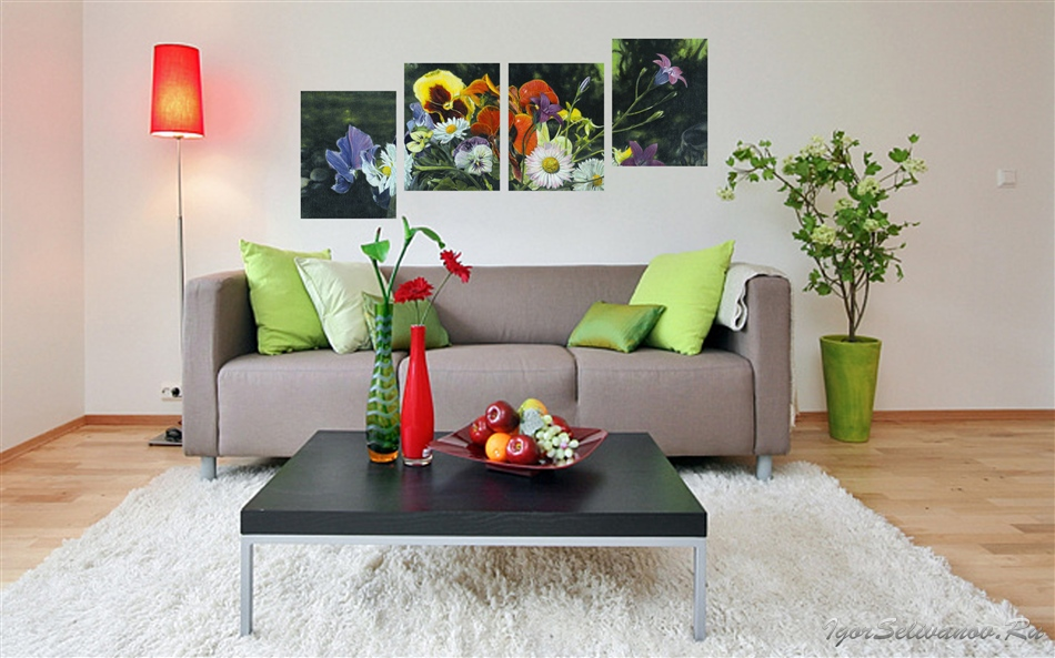 Постеры на стену, фотообои на заказ